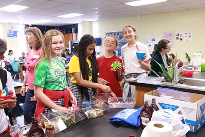 2015-05-07 7th Gr Ice Cream Party