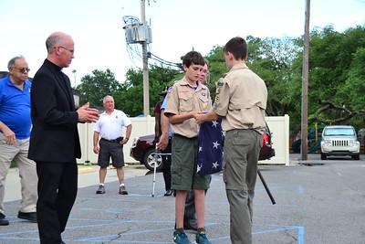 2015-06-13 Flag Retirement Ceremony