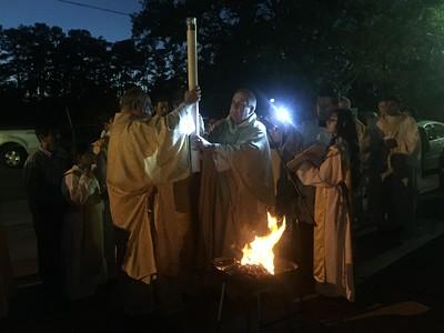 2015 April Easter Vigil