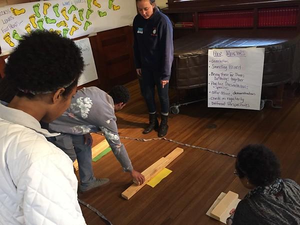 RESESS leadership training at Chautauqua, May 19, 2015. (Photo/Aisha Morris, UNAVCO)