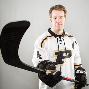 Purdue Hockey defenseman Brandt Rogers