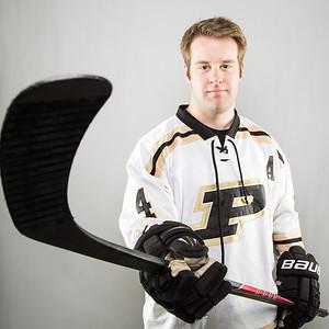 Purdue Hockey defenseman Brandt Rogers