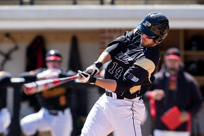 Kyle Wood bats during the Purdue baseball game against Maryland on April 26, 2015