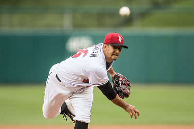 Wilfredo Boscan pitches during the 2015 International League Playoffs David Wegiel/Pinola Photography
