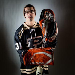 Purdue Hockey Goalie Sam Martinez