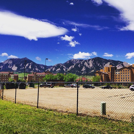While on a run during my first week here (after the rain finally left!) I turned around and saw this gorgeous view. So excited to be in Boulder!