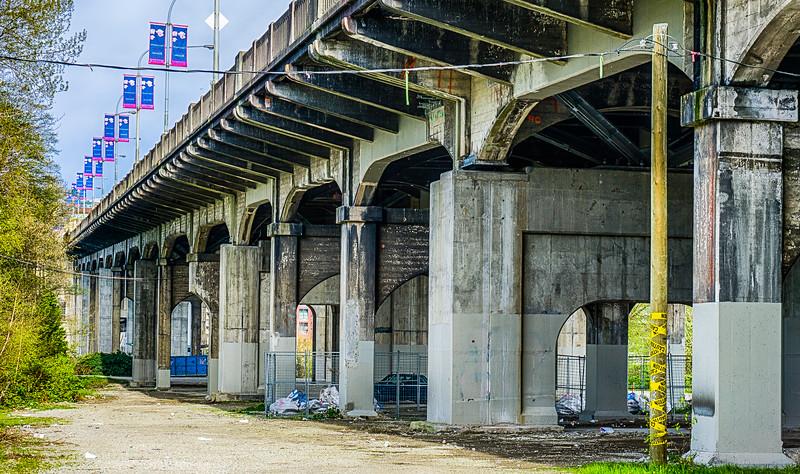 Grunge Beneath the Bridge