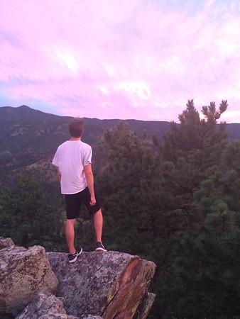 Sunset hike at Mt. Sanitas