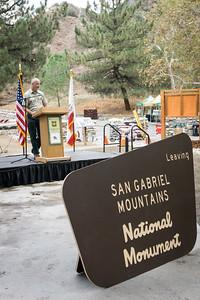 20151016059-San Gabriel Mountains National Monument One Year Celebration