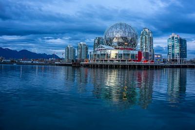 One of Vancouver's multi-purpose entertainment center.