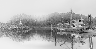 Hartley Bay black & white