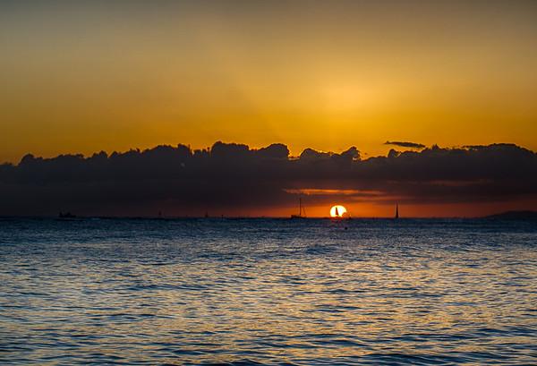 Hawaiian Sunset - 2