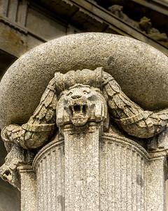 Classic Greek Column Pedestal