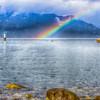 Rainbow over Howe Sound