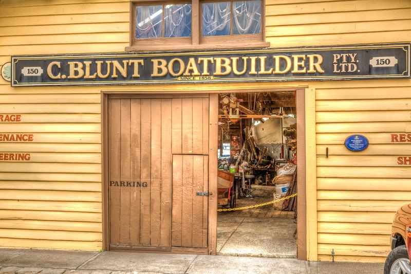 C.Blunt Boatbuilders