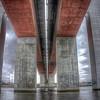 Beneath the Bolte Bridge