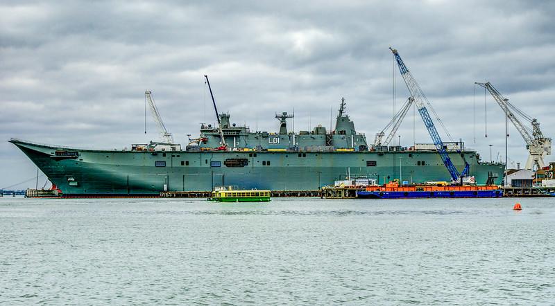 Royal Australian Navy - Amphibious Assault Ship (LHD)