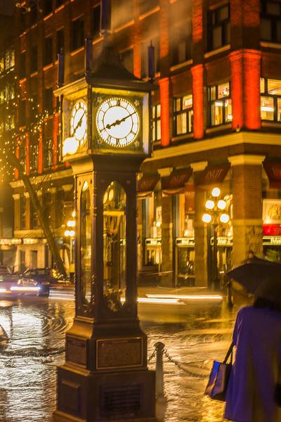 Steam Clock ~ Gastown, Vancouver