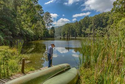 Lake Elizabeth in the Otway Ranges