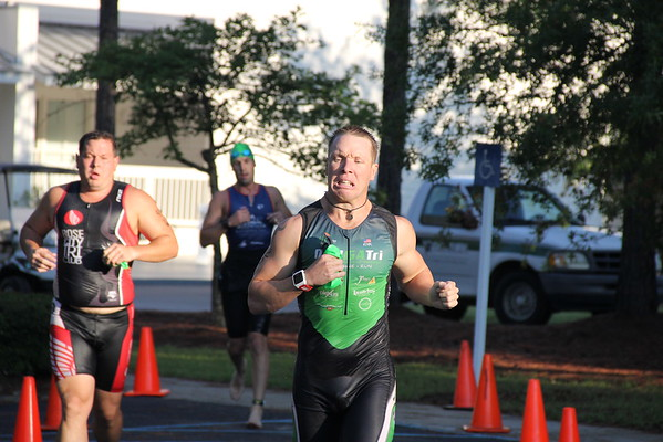 Veterans Triathlon Out of the Water