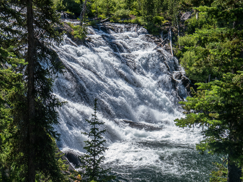 Lewis Falls, Yellowstone NP, WY