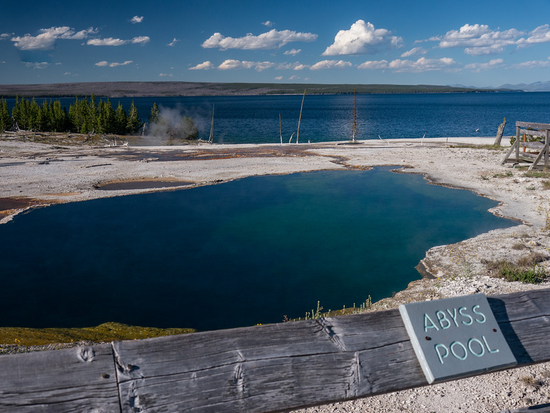 Abyss Pool, West Thumb, Yellowstone NP, WY