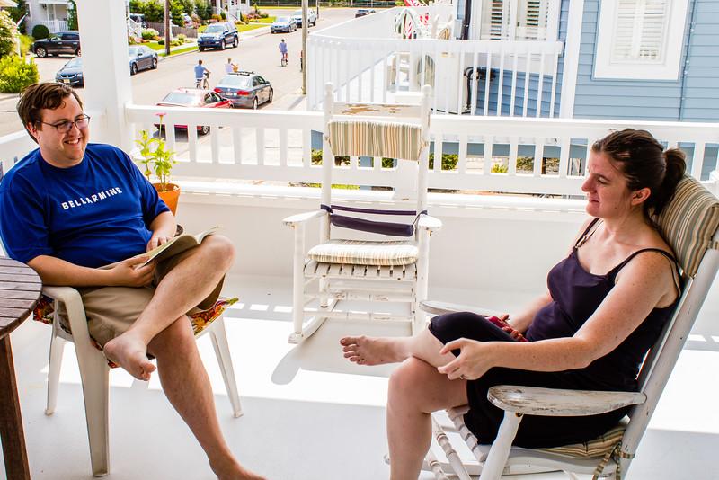 John and Cecilia hangout