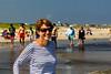 Celeste on beach