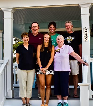 Mom and Brian visit