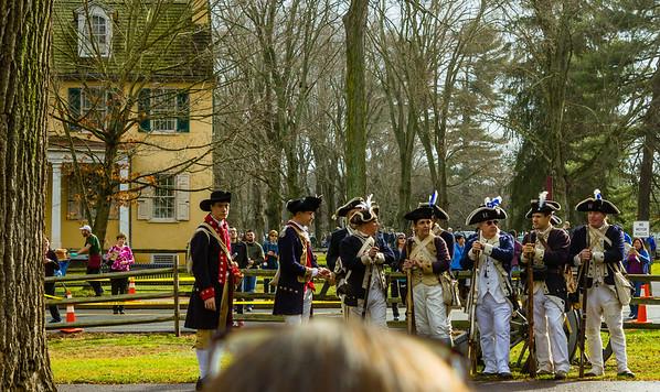 Washington's Crossing Re-enactment