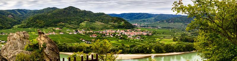 River Cruise Day 3 - Durnstein, Danube & Melk Abbey