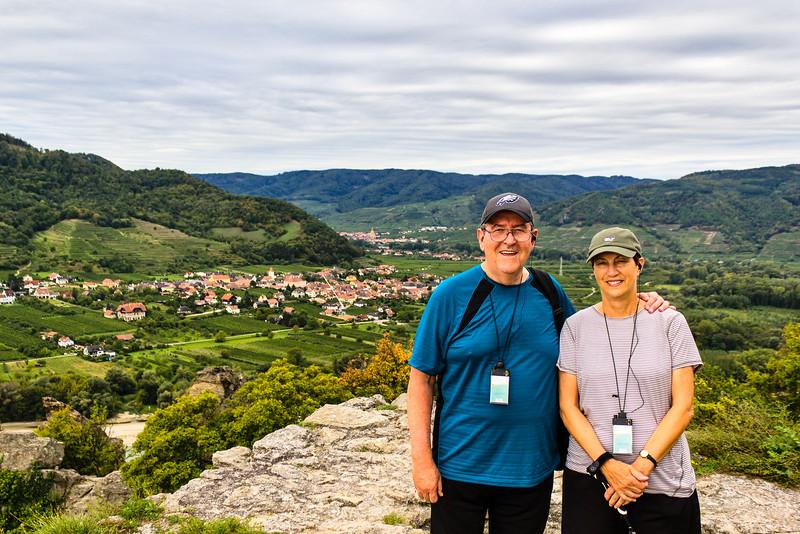 River Cruise Day 3 - Durnstein, Danube, Melk Abbey