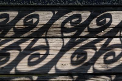 Sunscroll on the footbridge