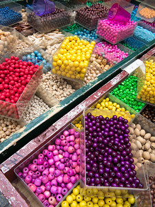 Flea market beads