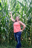 Corn Field with Reghan - Image ID # 2619