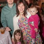 Dustin, Emily, Evelyn and Delilah Lykins.
