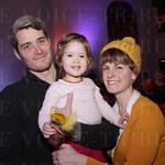 Dan and Freida M oore with Rylan Truman.