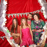 Emily Carter, Lilly Cary, Will Russell and Lorna-Mae Ward.