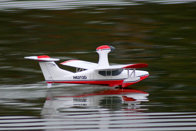 Pre Downriver Race fun with a RC Seaplane