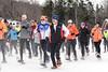 2015 Greenwood Gallop 5K snowshoe race