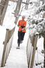 2015 Hoot-Toot & Whistle 5K snowshoe race