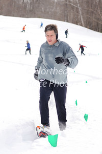 Woodford Whiteout 10K snowshoe race