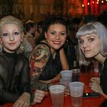 Sydni Thompson, Amanda Ramsey and Alicia Carper.