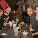 Miranda and Ryan McDonald, Dathan Bowen and Kayla Prather.