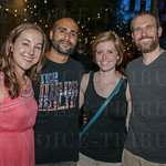 Liesel Jay, Ahmed Abdul, Alyssa Taylor and Forrest Husted.
