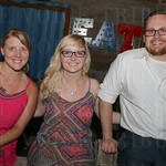 Mackenzie Gentry, Holly Terry and James Roberts.