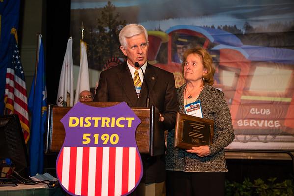 Jerry & Tasha Hall - Rotary Distinguished Service Award