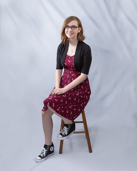 2015-09-26 Rachael seated with sneakers