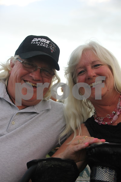 The 2015 Shellabration event at Harlan Rogers took place on June 26, 2015 featuring Boston as the main attraction. Seen here (left to right)are: Steve and Mandy Meyer