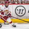 Pictured:  DU:  #14, Larkin Jacobson, F, 6-2, 215, SR, Sioux City, IA